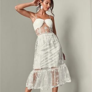 Dresses & Skirts - HP🎉🎊 White lace dress